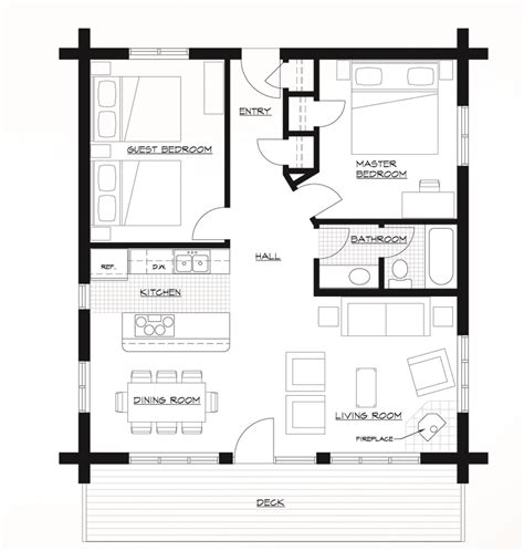 cabin floor plans modern house
