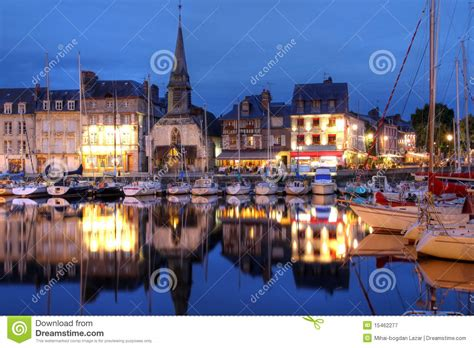 honfleur france stock image image of architecture