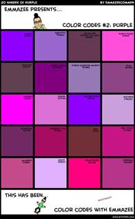purple colors names purple color names pictures to pin on pinsdaddy