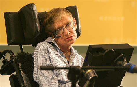 scienziato sedia a rotelle l astrofisico hawking nello spazio sulla sedia a rotelle