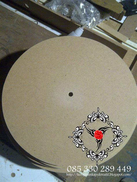 membuat jam dinding kayu kerajinan souvenir dari kayu limbah membuat jam dinding