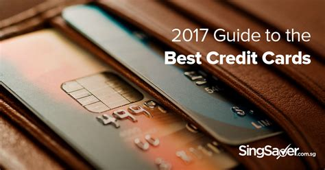 Best Credit Card Gift Card - the very best credit cards in singapore for 2017