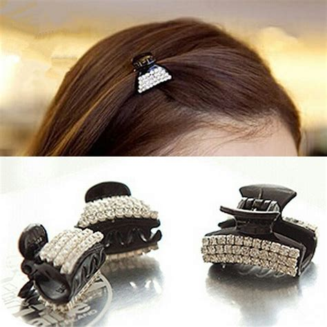 Parfum Korean Hair Clip korean hair claws barrette hair for hair accessories acrylic claw clip high