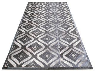 cowhide rug los angeles twine lasercut cowhide patchwork rug modern rugs los angeles by viesso