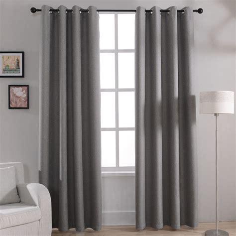 rideau pour fenetre chambre aliexpress com acheter moderne solide blackout rideaux
