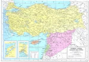 Turkey Syria Map by Turkey Syria Lebanon Amp Cyprus Map 1949 Philatelic