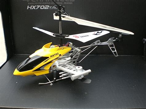 Rc Helicopter Vmax Hx702 4channel With Gyro hx702 v max 4ch alloy gyro infrared rc 1 16 helicopter ebay