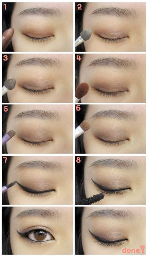 tutorial eyeshadow asian pakistani eyes makeup prominent smokey sparkling makeup