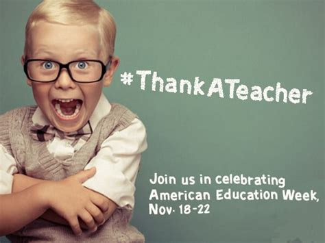 themes for american education week let s give some appreciation 10 handpicked ideas to