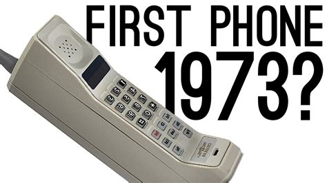 1st mobile phone who invented the mobile phone
