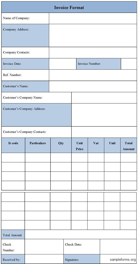 make your own invoice template generic invoice template printable