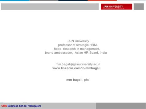 What Is Mba And Phd by Mm Bagali Research Phd Management Hr