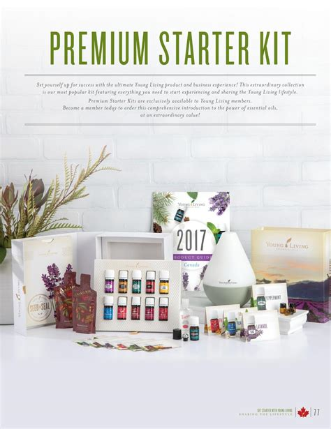 Living Premium Starter Kit Ori Non Member 2017 living canada product guide by living essential oils canada issuu