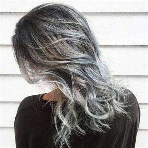 platinum highlights on gray hair 30 long gray hair going gray pinterest long gray