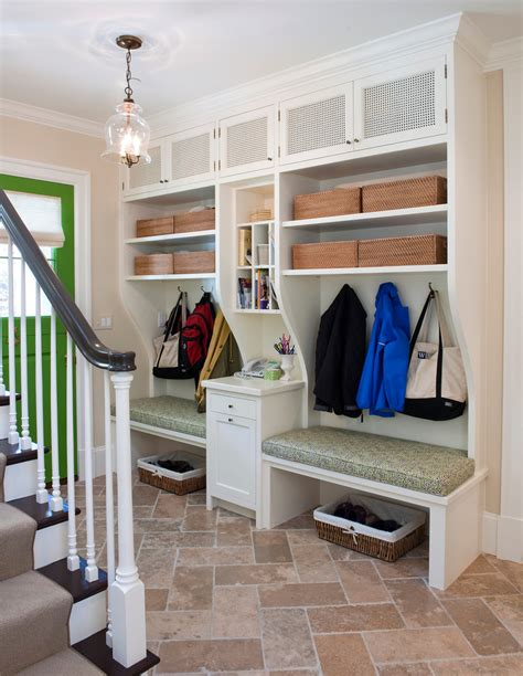 entryway storage ideas mudroom ideas entry traditional with coat hooks built in desk