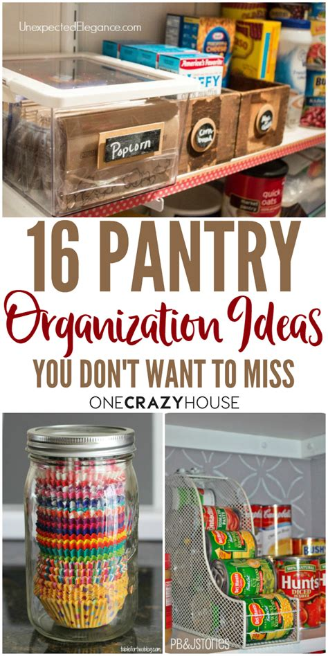 pantry organization ideas 16 pantry organization ideas that your kitchen will