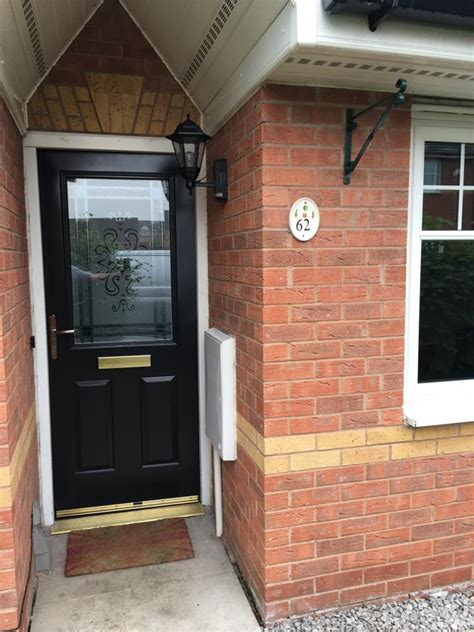 upvc front doors fitted cost upvc front door cost upvc doors peterborough glazed