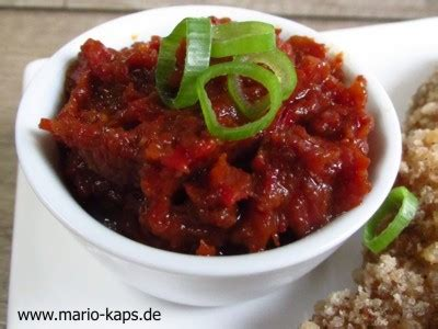 Samba Chili Terasi streetfood sambal krupuk panierte sate spie 223 e vom rind mit selbst gemachtem sambal terasi