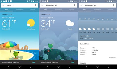 what is the best weather app for android 10 best weather apps for android in 2017 phandroid