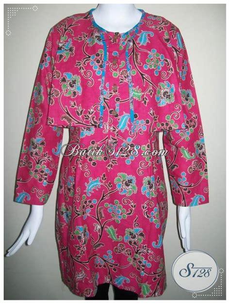 Batik Wanita Blus Kantor blus batik trendy untuk wanita pekerja kantor bls235p toko batik 2018