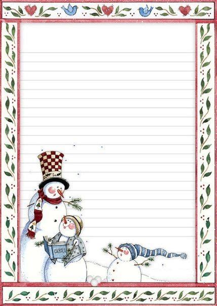 lined paper with snowman border 337 best images about yazi şiir i 199 in paper border on