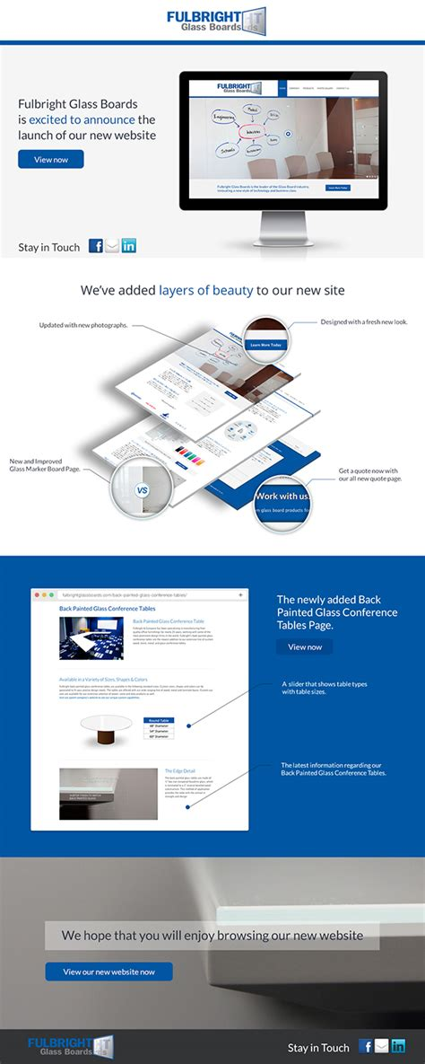 New Website Launch Email Template Email Template For New Website Launch On Behance