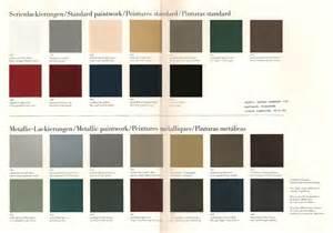 Mercedes Colour Chart Strange 190e Colour Any Hints Page 1 Mercedes