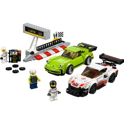 porsche lego set lego porsche 911 rsr and 911 turbo 3 0 set 75888 brick