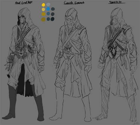 Assassins Creed Character Concept Design By Zankax X On Assassins Creed Designs