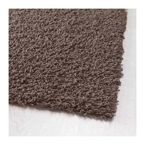 teppiche 200x300 h 214 jerup rug high pile grey brown 120x180 cm ikea