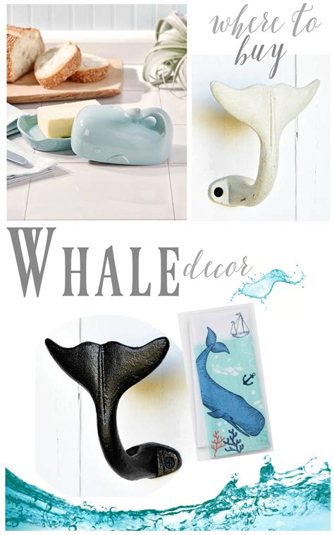buy home decor where to buy coastal whale decor