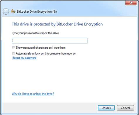 reset windows password bitlocker how to unlock bitlocker encrypted drive using the recovery