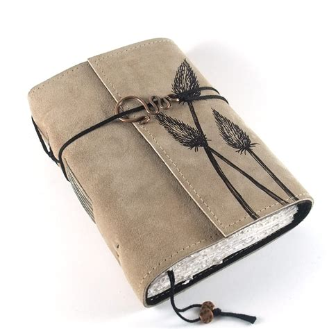 How To Make A Handmade Leather Journal - leather journals kreativlink epheriell designs