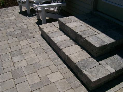 Paver Patio Steps Paver Patio Steps From Natures Way Landscaping In Defiance Oh 43512