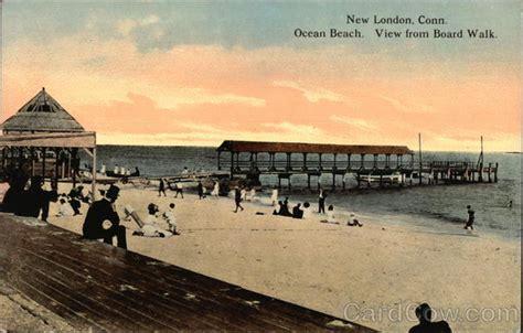 ocean beach ct ocean beach view from boardwalk new london ct