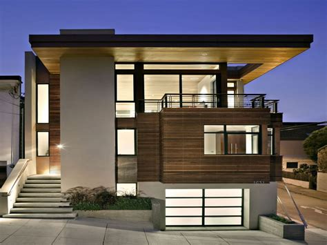 modern minimalist house beautiful exterior design for