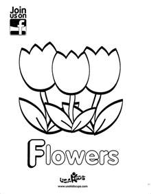 coloring pages of may flowers april showers bring may flowers enjoy usa tulip
