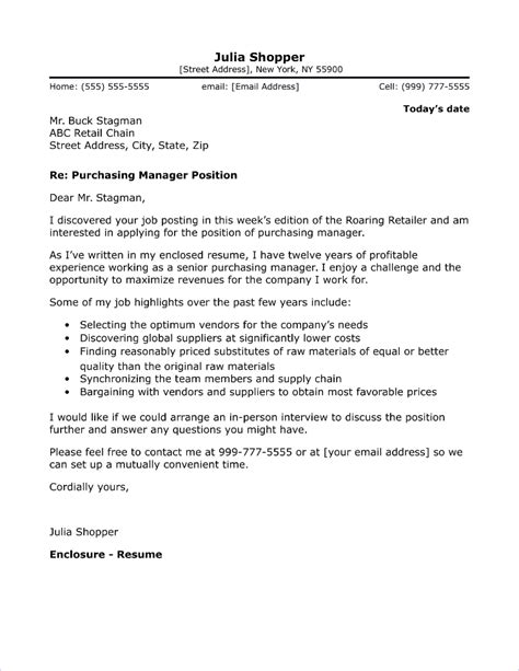 cover letter for purchasing manager purchasing letter procurement cover letters thevillas co