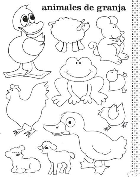 imagenes de animales de granja para colorear dibujos de animales granja para colorear ingles espanol