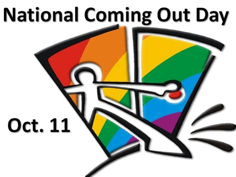 New Coming Out Day - reflecting on coming out to celebrate national coming