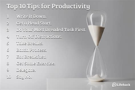 Top 10 Tips On How To Get A For Boys by Top 10 Tips For Productivity Peace Of Mind