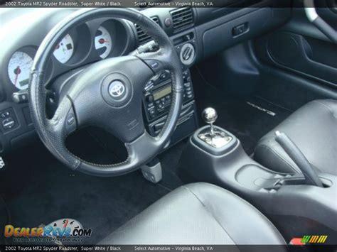 Mr2 Spyder Interior by Black Interior 2002 Toyota Mr2 Spyder Roadster Photo 14