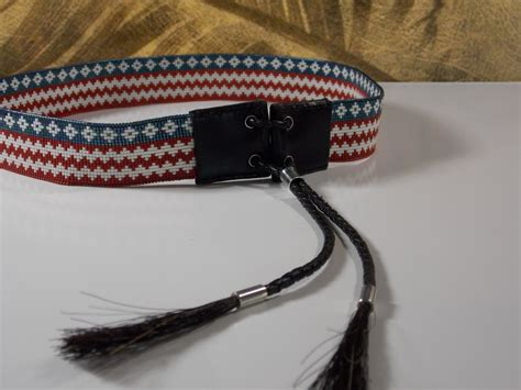 indian beaded hat band american brave american beaded hat band ljgreywolf