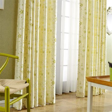 yellow nursery curtains light yellow botanical print velvet nursery grommet curtains