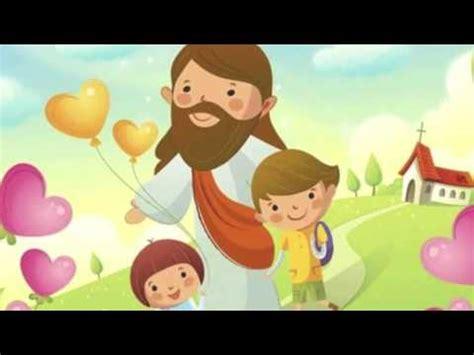 imagenes de jesucristo infantiles video dios me ama para ni 241 os youtube