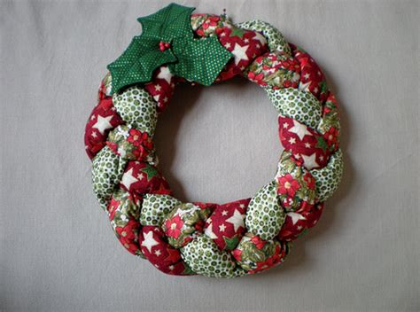 Patchwork Wreath Pattern - patchwork wreath flickr photo