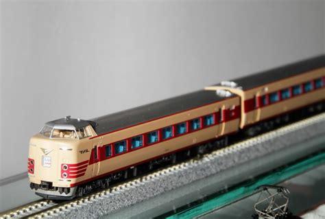 Jarum Jam 104 asahi 朝日新聞社 381系 しなの kato 第12回国際鉄道模型コンベンション トラベル