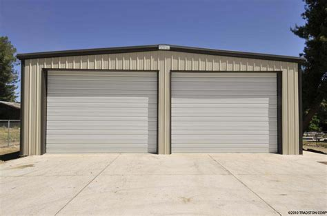 Metal Shed Garage by Metal Shed Workshop Plan