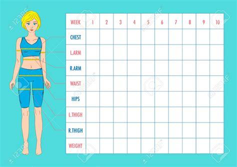 Measurements Chart Template