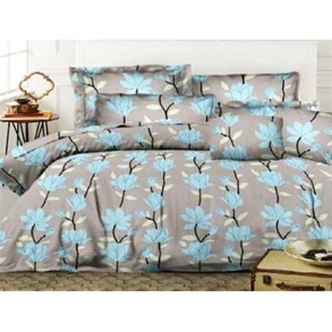 jual ellenov sprei bedcover florence blue small single